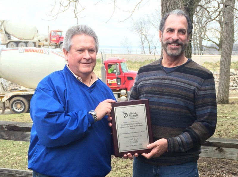 MRES awarded for worker safety at Red Rock Hydroelectric Project