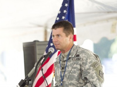 Col. Mark Deschenes, Colonel Mark J. Deschenes is the Commander and District Engineer of the U.S. Army Corps of Engineers, Rock Island District, headquartered on Arsenal Island in Rock Island, Ill.