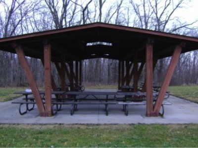 Cordova Park Picnic Shelter - Before
